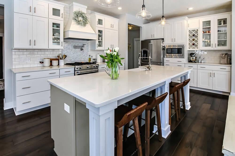 Kitchen featured in The Newport By Eastbrook Homes Inc. in Lansing, MI