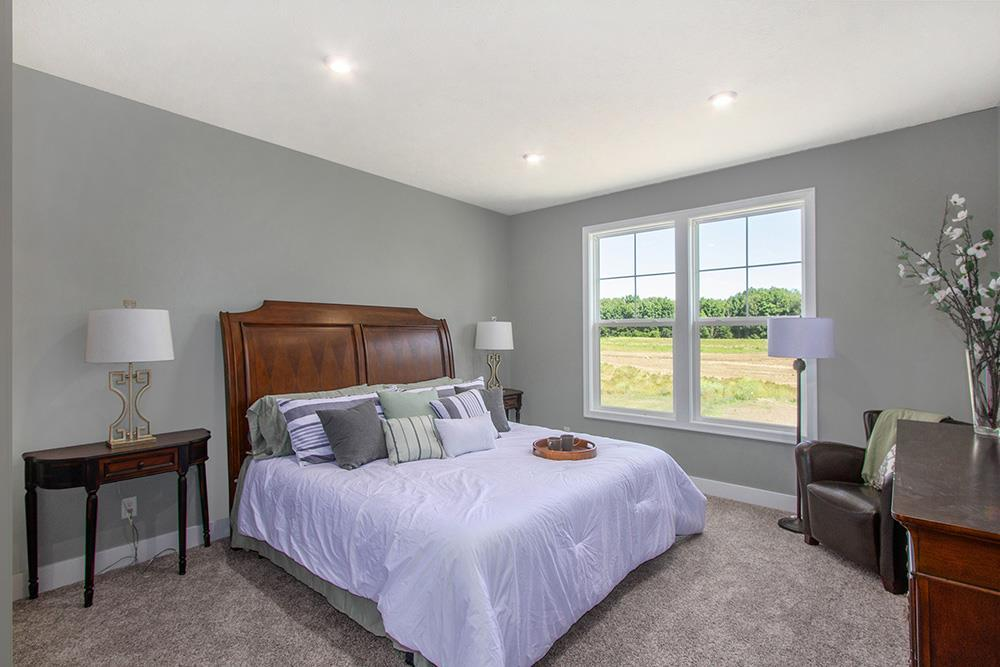 Bedroom featured in The Aspen By Eastbrook Homes Inc. in Lansing, MI