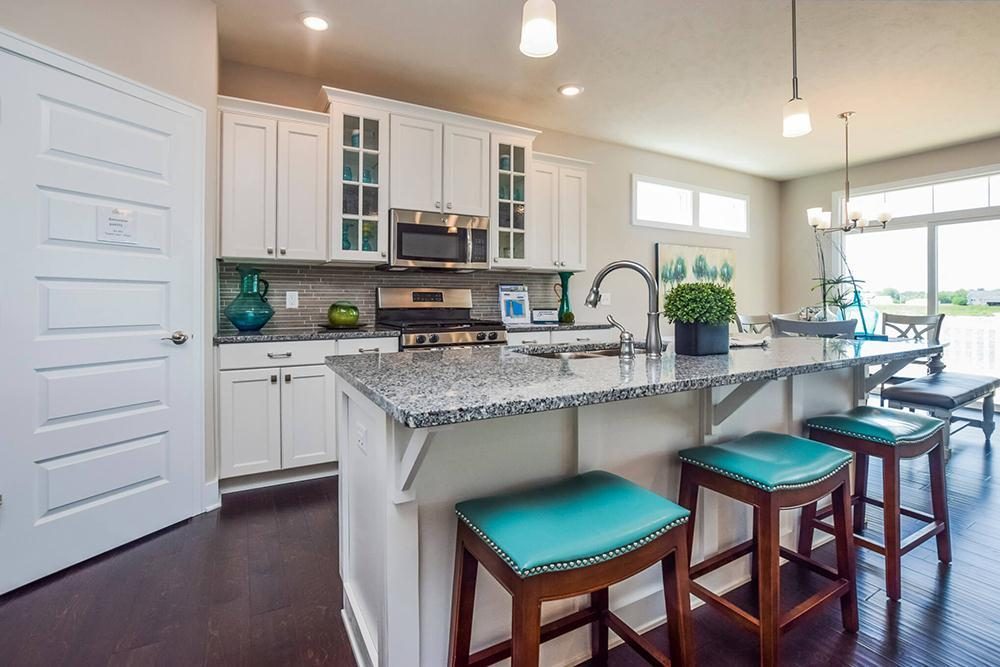 Kitchen featured in The Channing By Eastbrook Homes Inc. in Grand Rapids, MI