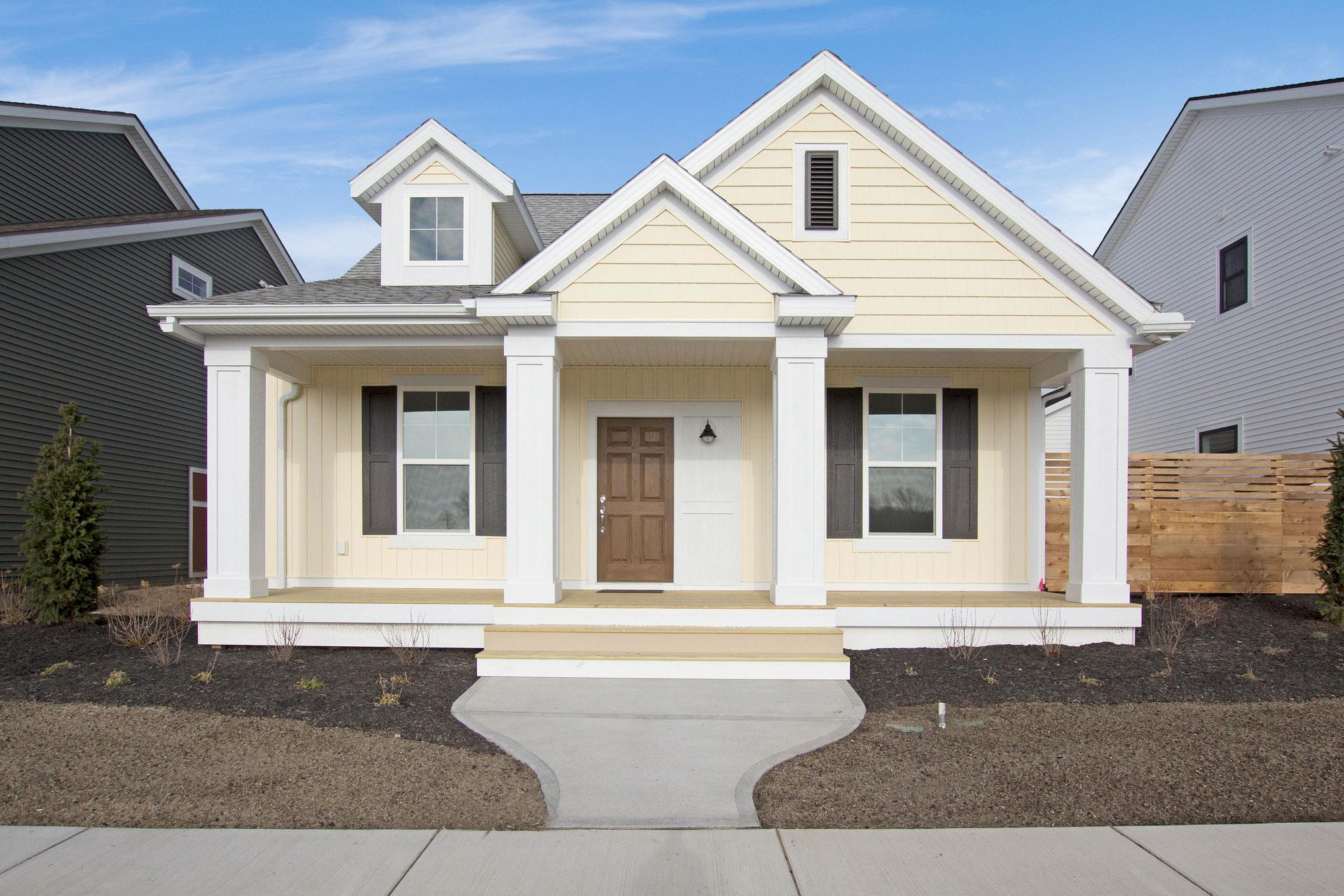 Exterior featured in The Mackinaw By Eastbrook Homes Inc. in Grand Rapids, MI