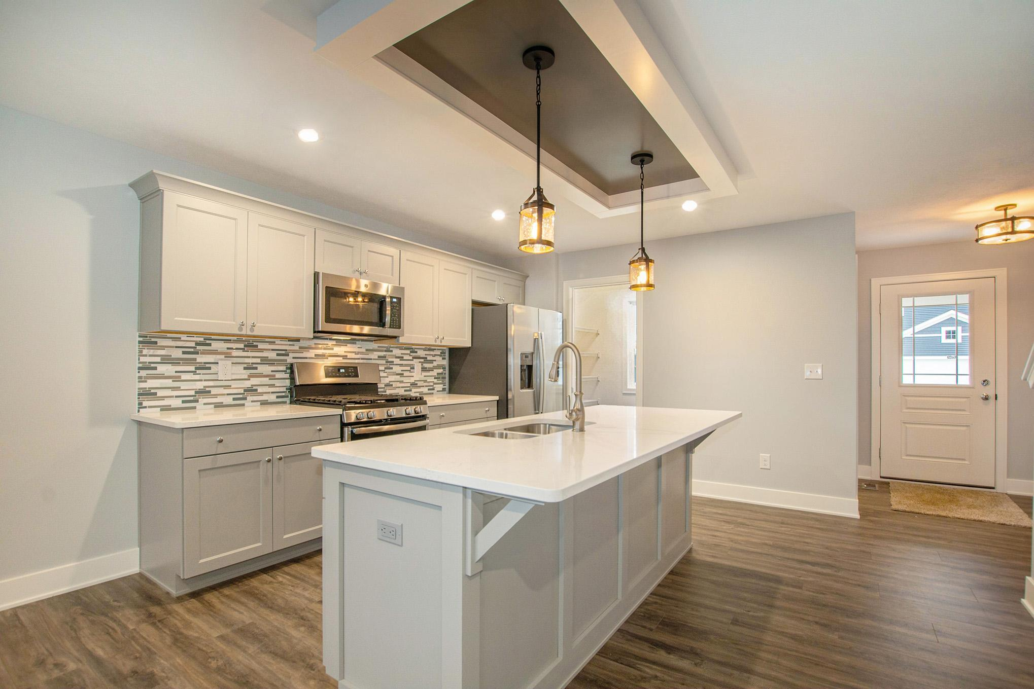 Kitchen featured in The Ivy By Eastbrook Homes Inc. in Lansing, MI