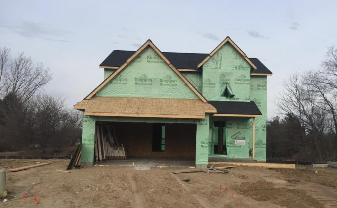 Exterior featured in The Rowen By Eastbrook Homes Inc. in Grand Rapids, MI