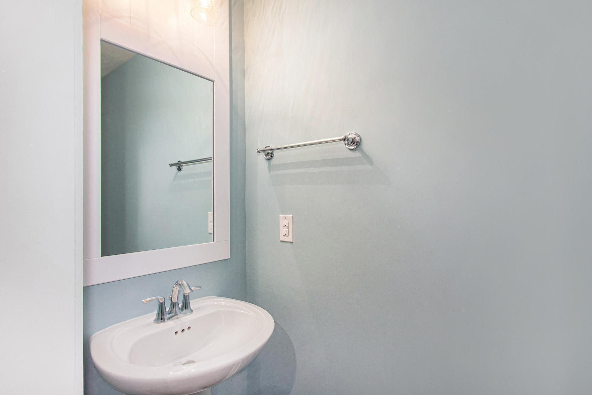 Bathroom featured in The Rowen By Eastbrook Homes Inc. in Lansing, MI