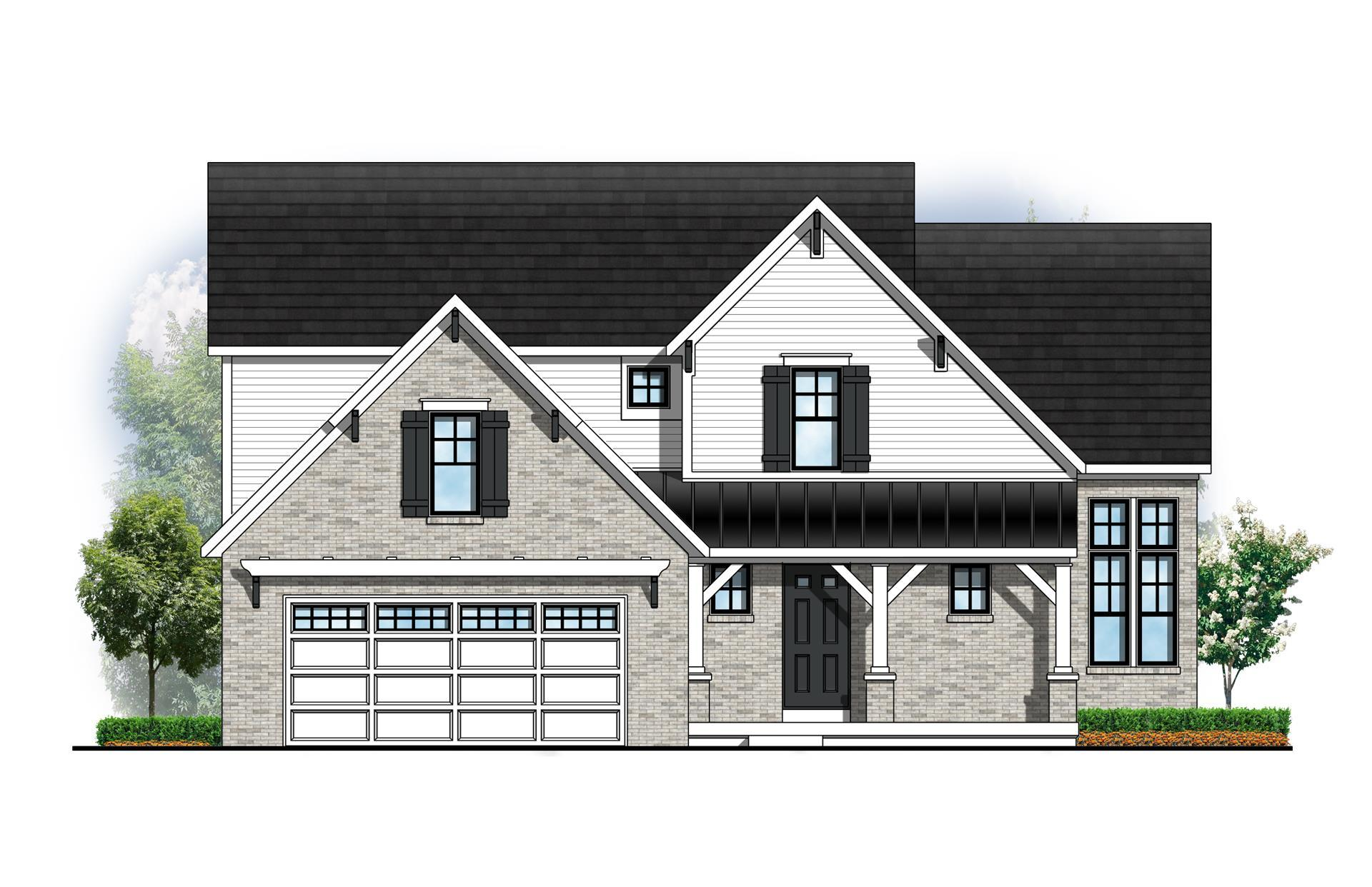 Exterior featured in The Hadley By Eastbrook Homes Inc. in Lansing, MI