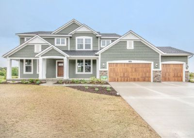 Exterior featured in The Crestview By Eastbrook Homes Inc. in Lansing, MI