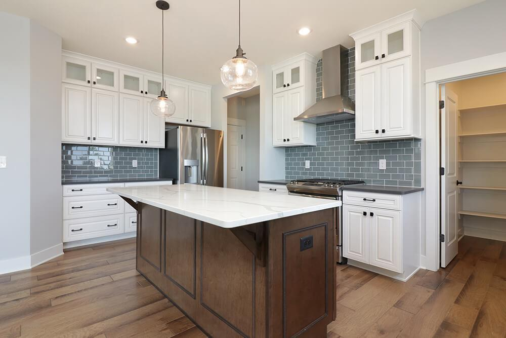Kitchen featured in The Crestview By Eastbrook Homes Inc. in Lansing, MI