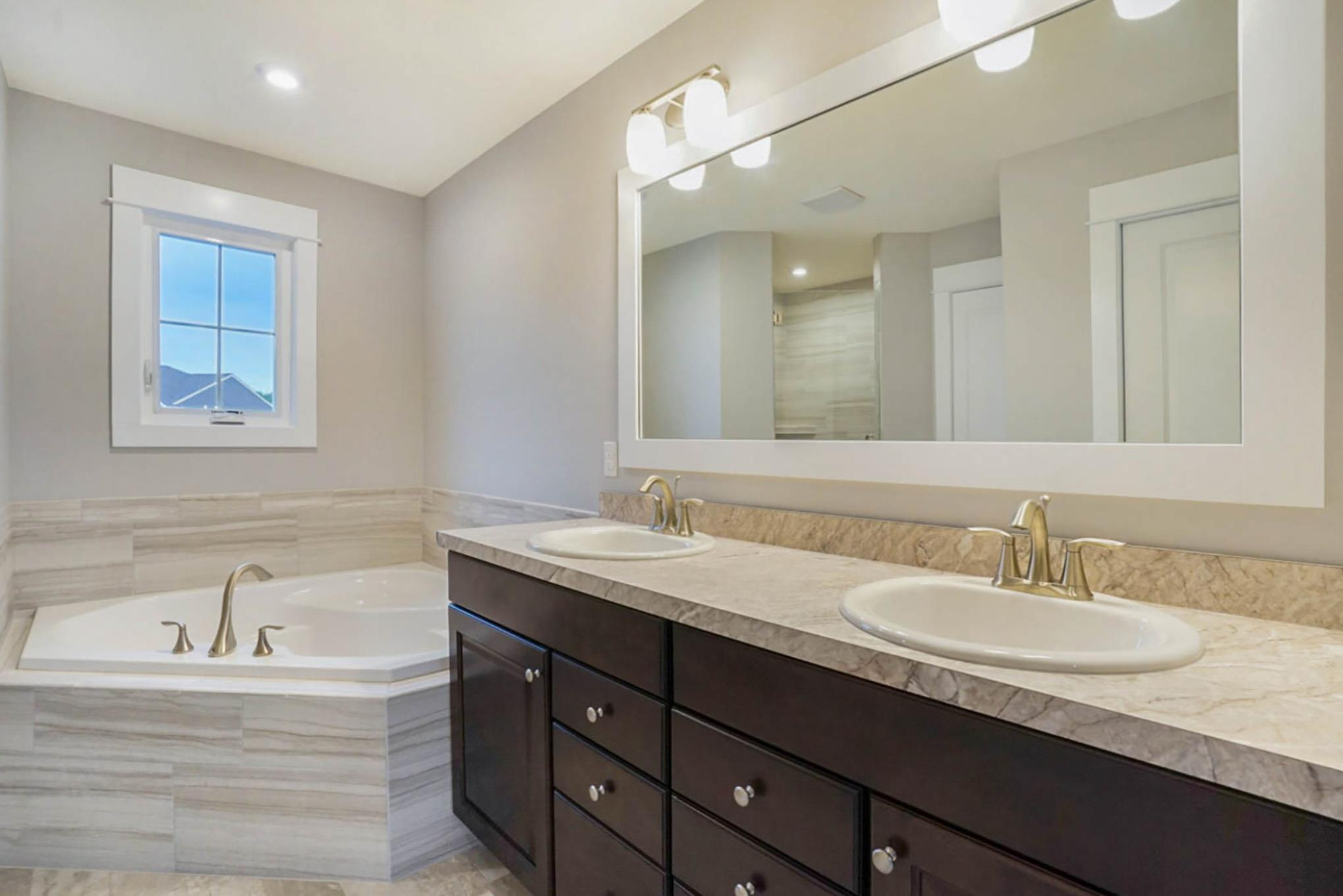 Bathroom featured in The Crestview By Eastbrook Homes Inc. in Grand Rapids, MI