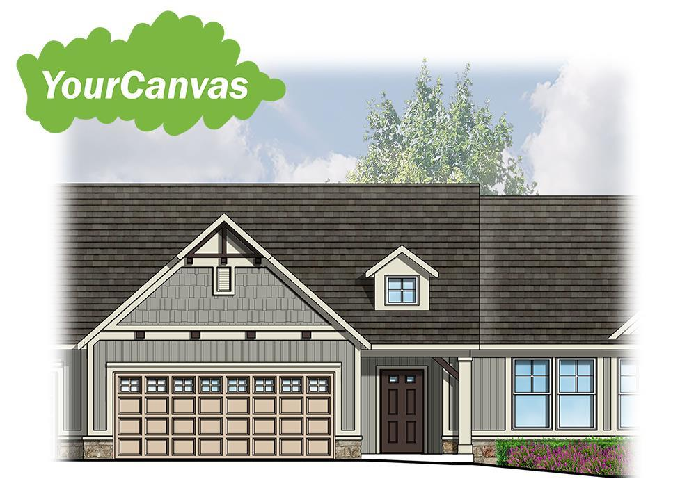 Exterior featured in The Channing By Eastbrook Homes Inc. in Grand Rapids, MI
