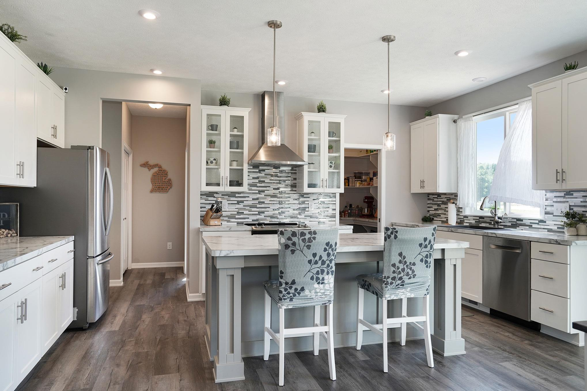 Kitchen featured in The Crestview By Eastbrook Homes Inc. in Grand Rapids, MI