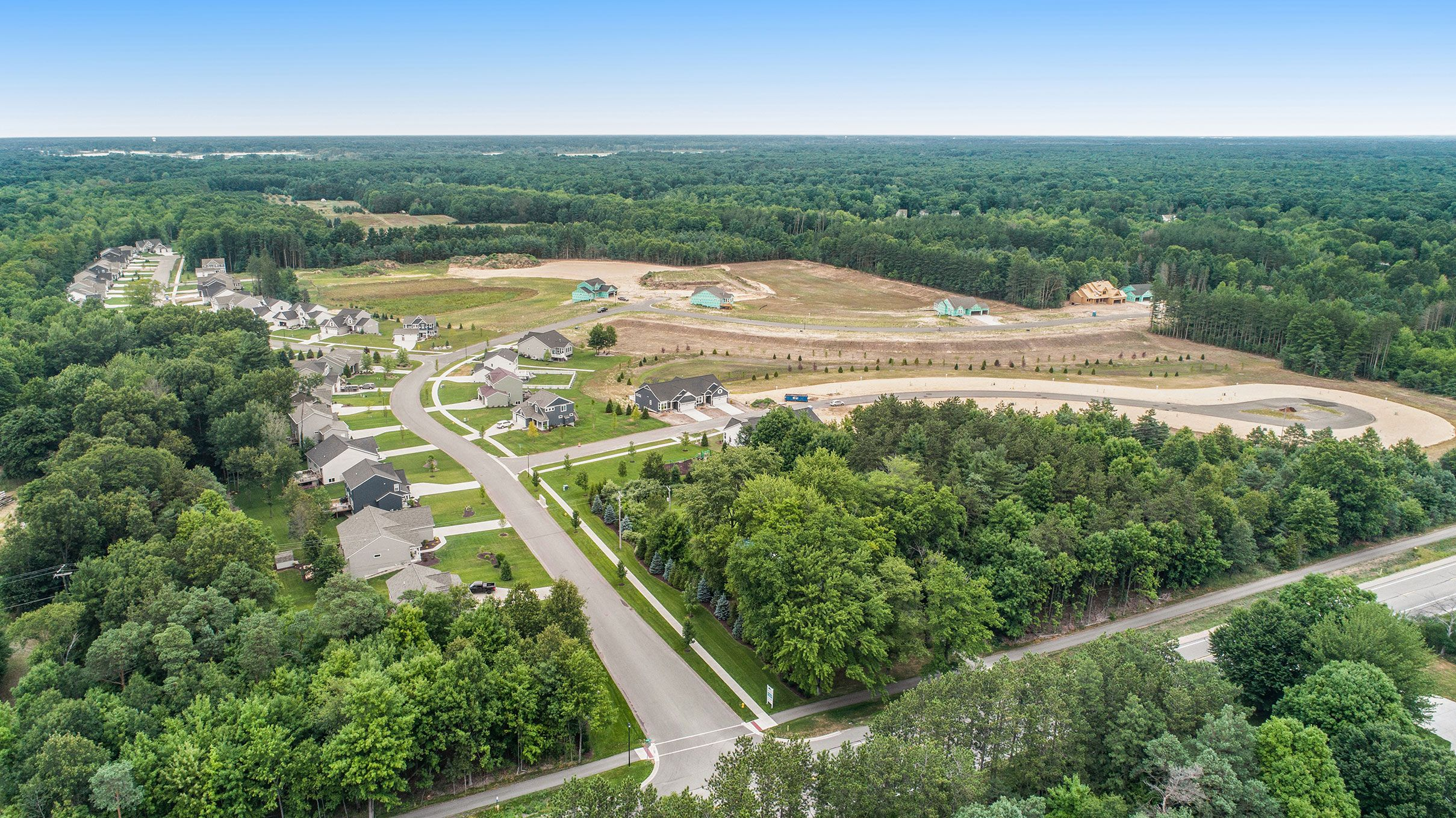 'Lincoln Pines' by Eastbrook Homes Inc. in Grand Rapids
