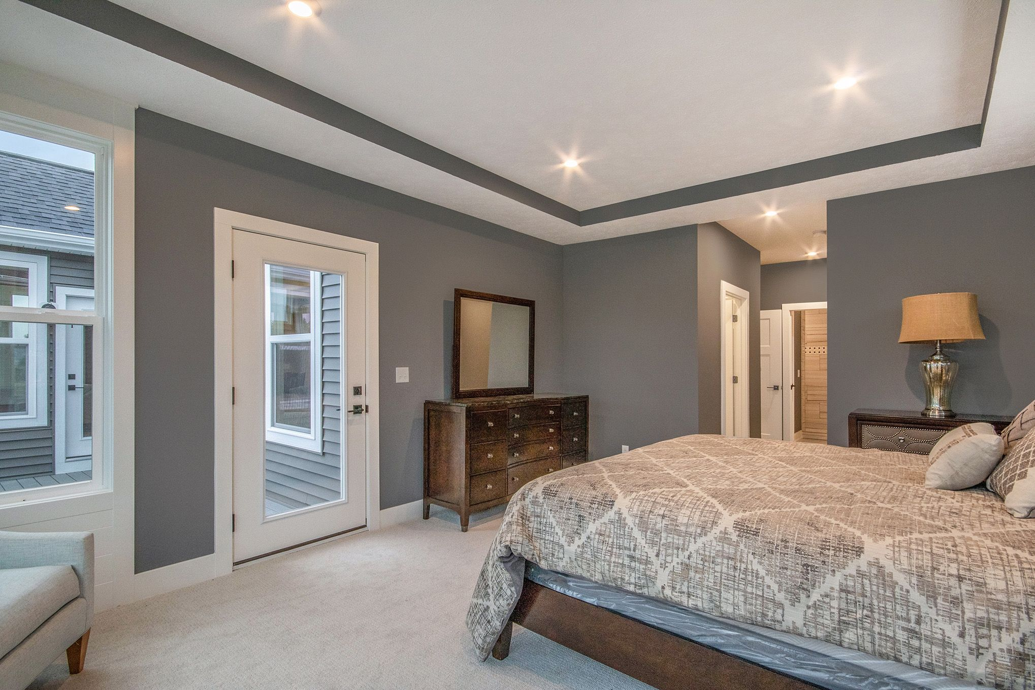 Bedroom featured in The Willow ll By Eastbrook Homes Inc. in Lansing, MI