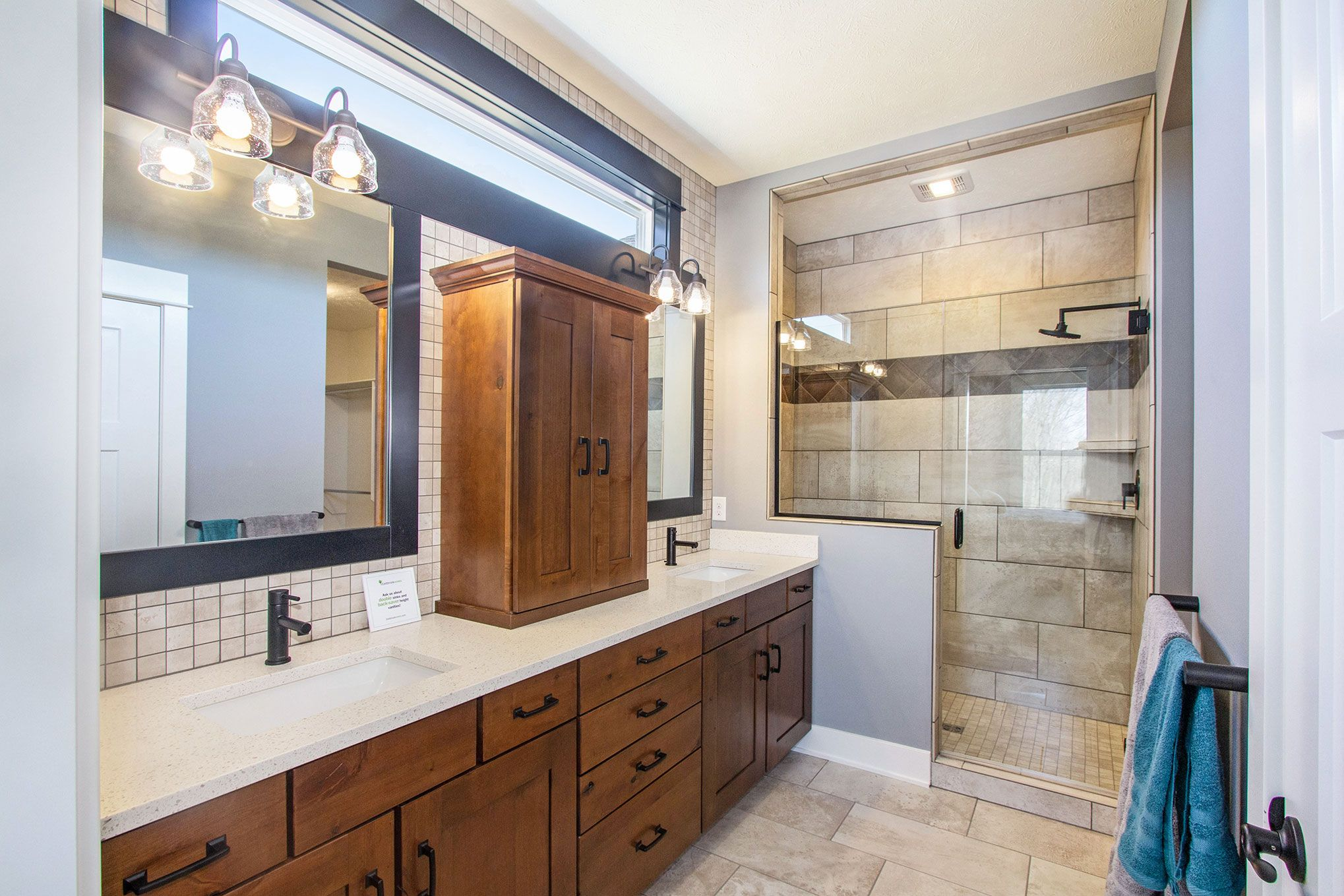 Bathroom featured in The Willow ll Americana By Eastbrook Homes Inc. in Lansing, MI