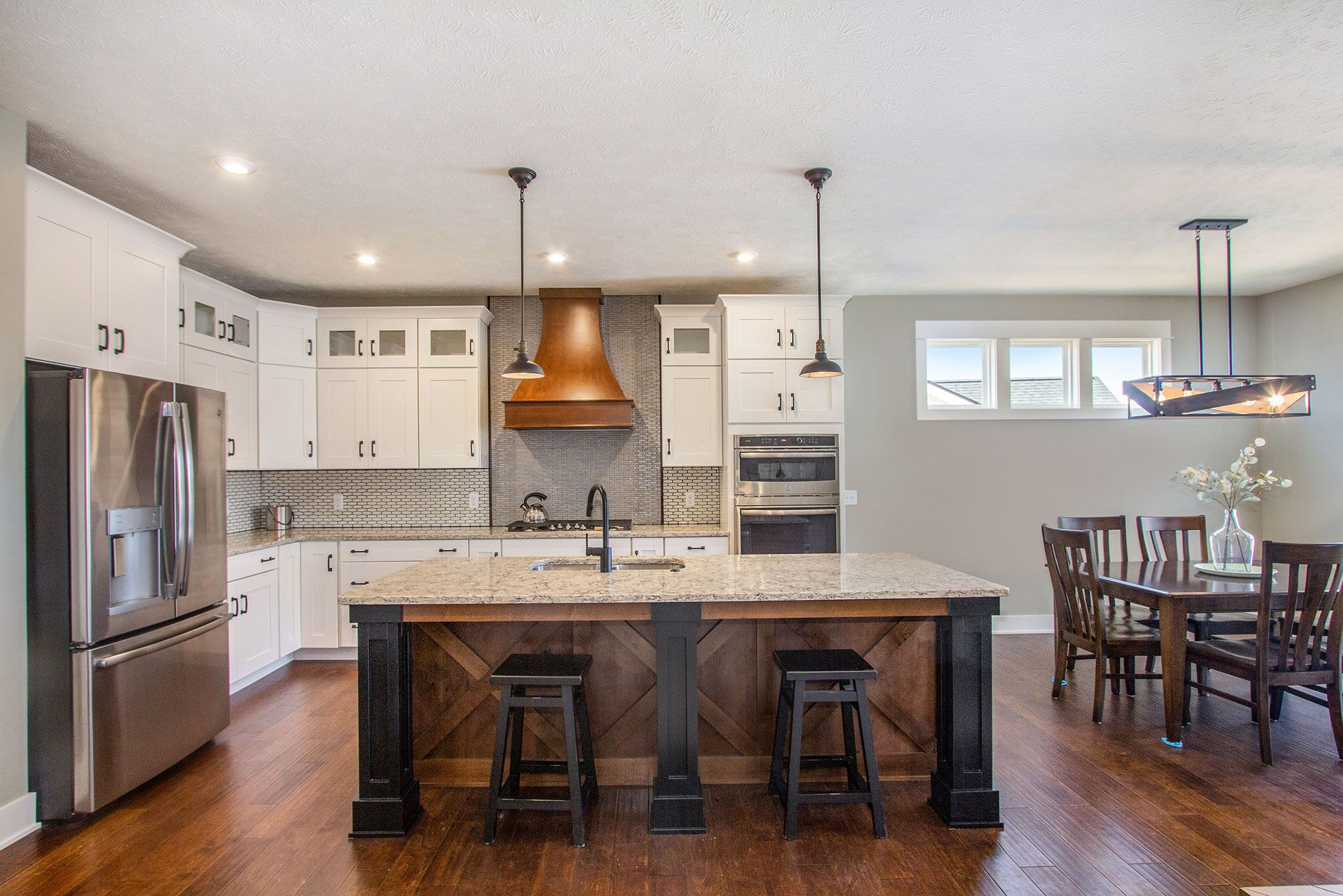 Kitchen featured in The Willow ll Americana By Eastbrook Homes Inc. in Lansing, MI