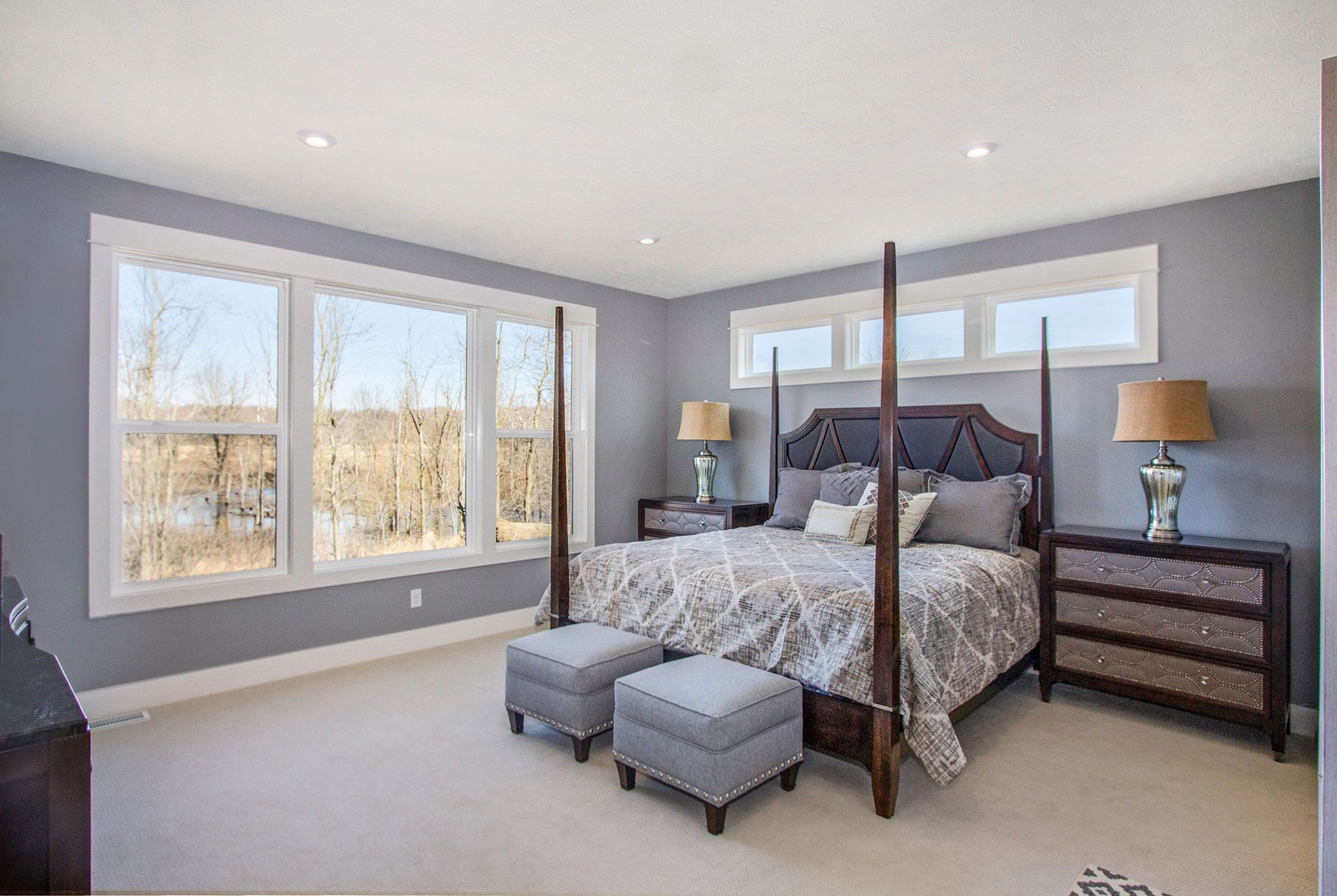 Bedroom featured in The Willow ll Americana By Eastbrook Homes Inc. in Lansing, MI