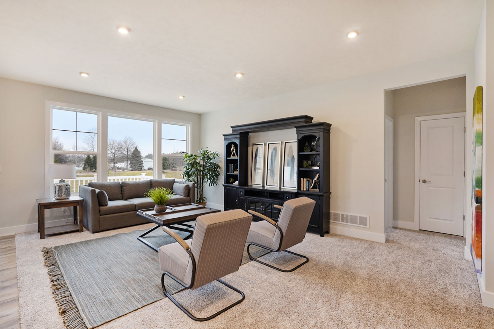 Living Area featured in The Aspen By Eastbrook Homes Inc. in Lansing, MI