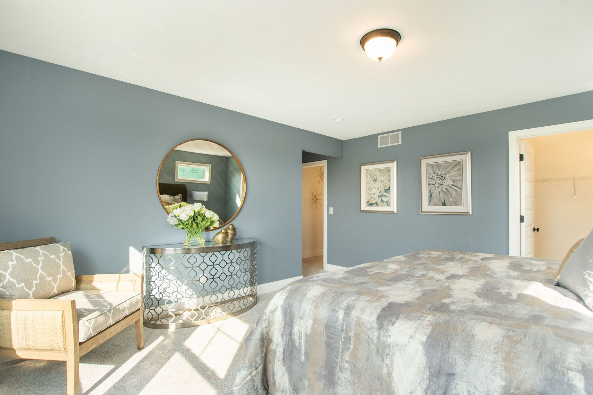 Bedroom featured in The Lowing Woods Townhome By Eastbrook Homes Inc. in Grand Rapids, MI