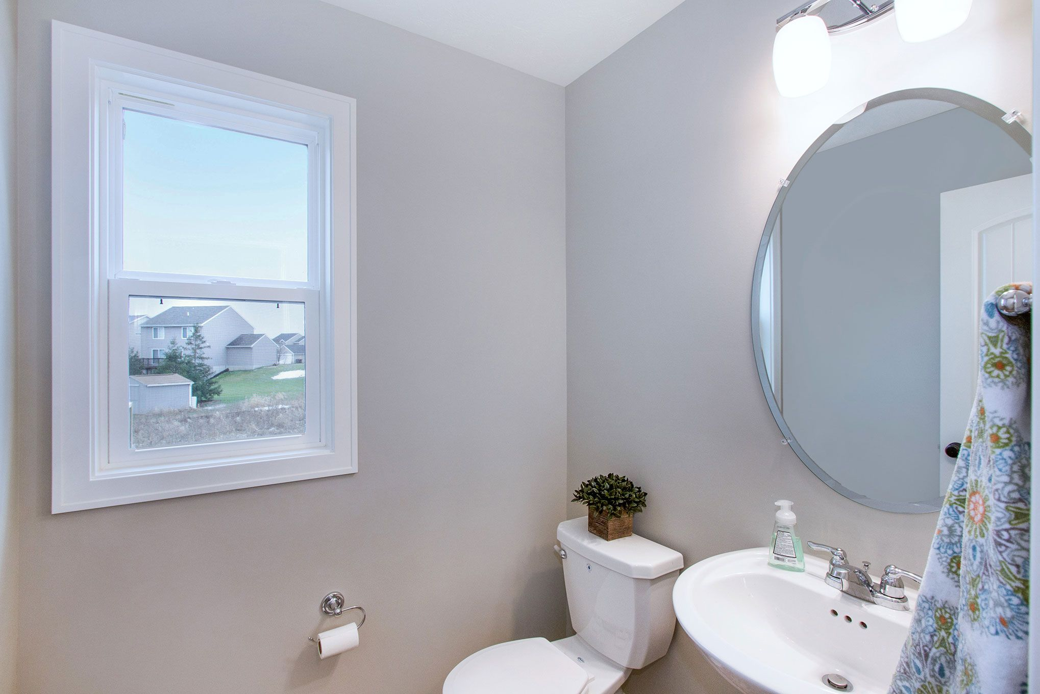 Bathroom featured in The Stockton By Eastbrook Homes Inc. in Lansing, MI