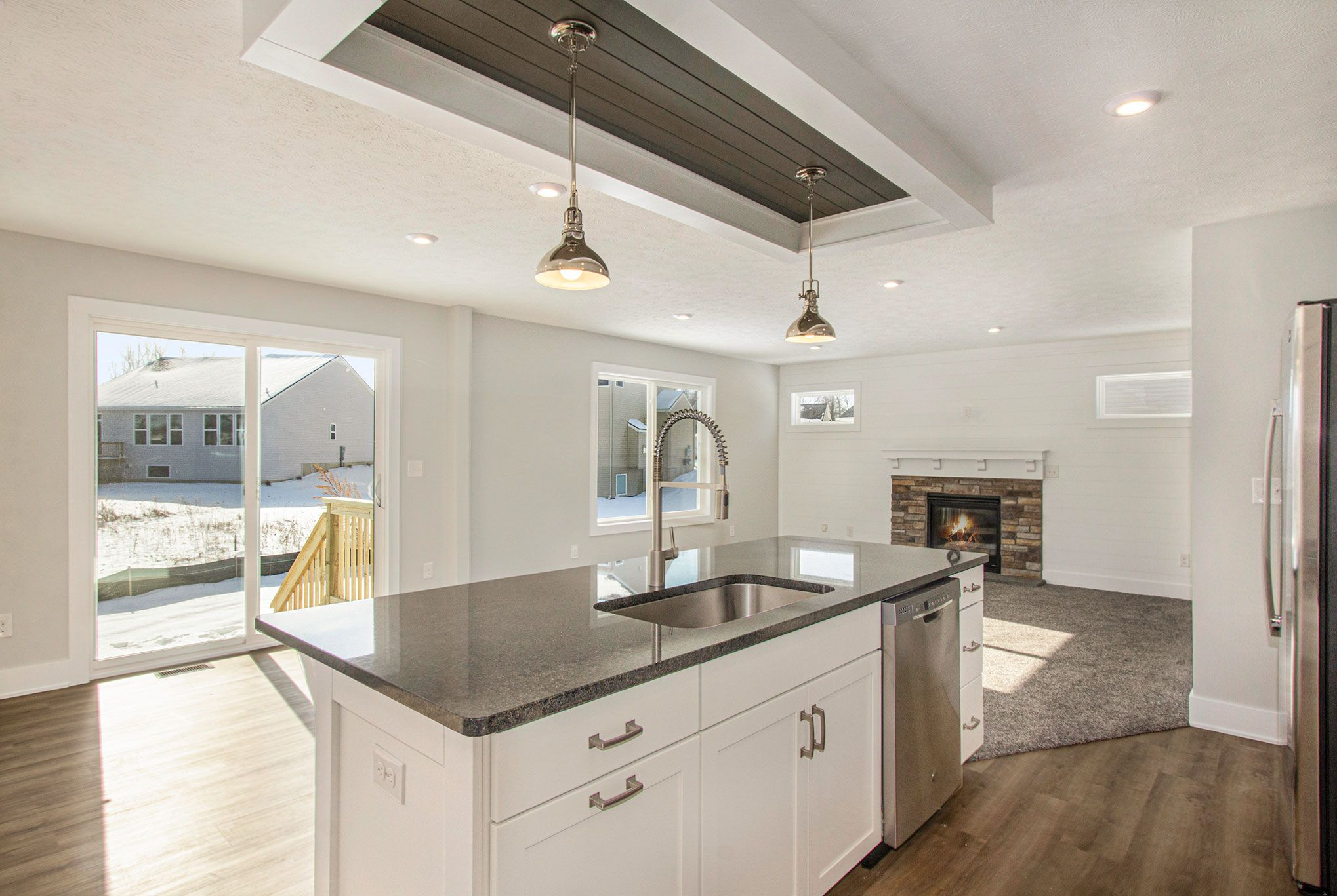 Kitchen featured in The Taylor By Eastbrook Homes Inc. in Lansing, MI