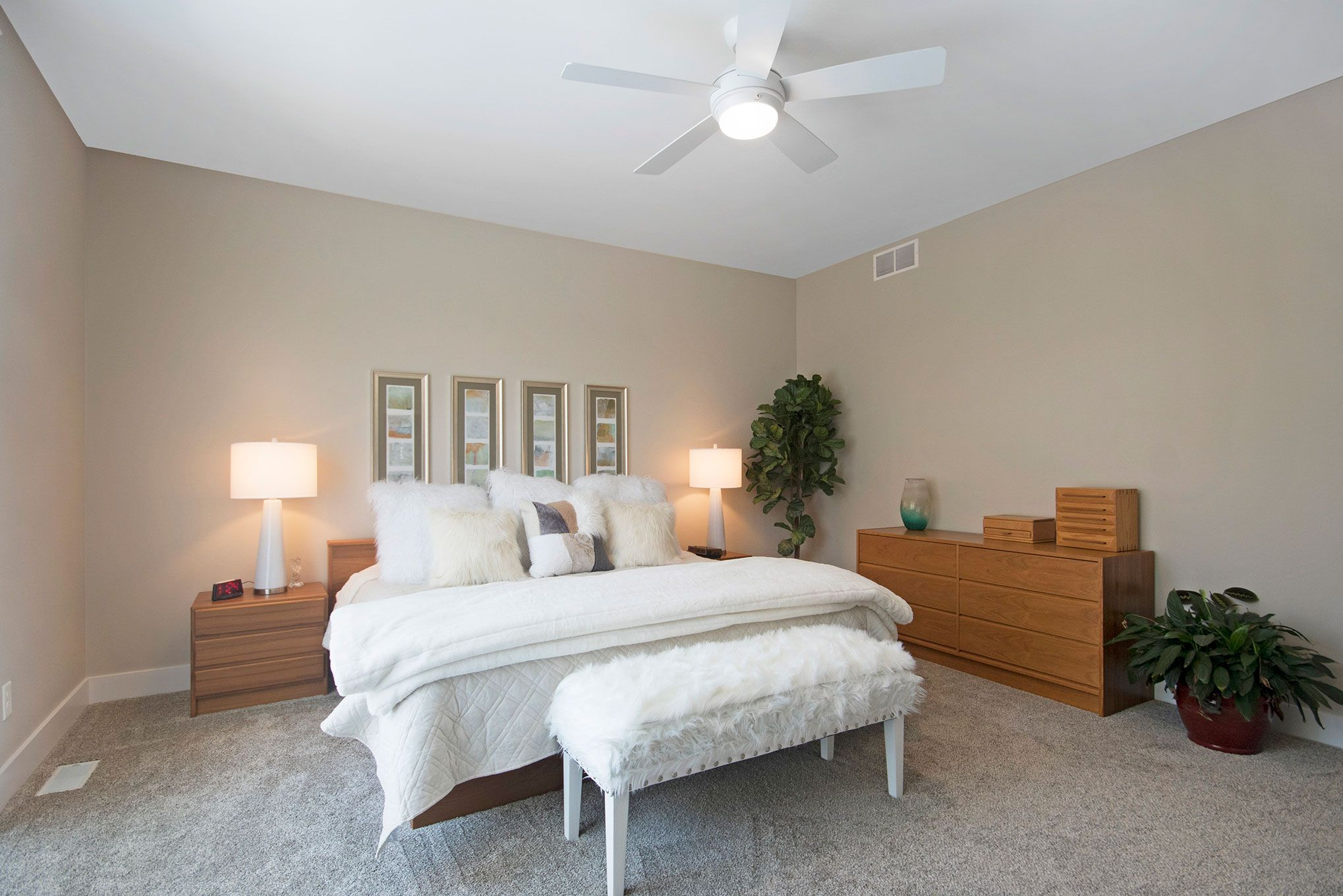 Bedroom featured in The Fitzgerald By Eastbrook Homes Inc. in Lansing, MI