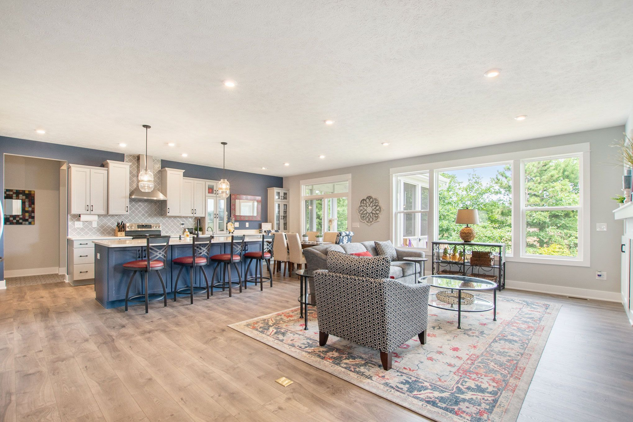 Living Area featured in The Maxwell By Eastbrook Homes Inc. in Grand Rapids, MI
