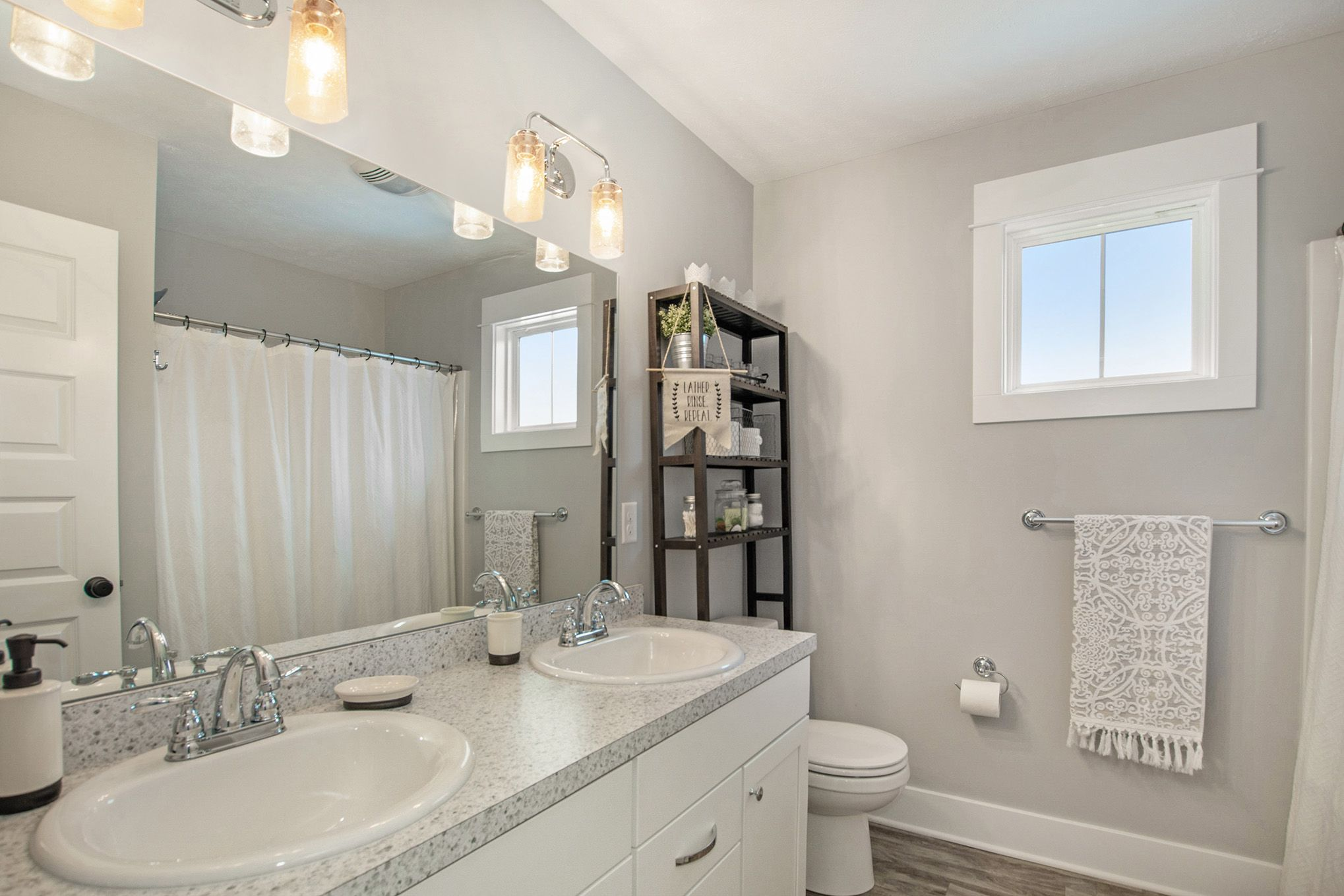 Bathroom featured in The Hearthside By Eastbrook Homes Inc. in Lansing, MI