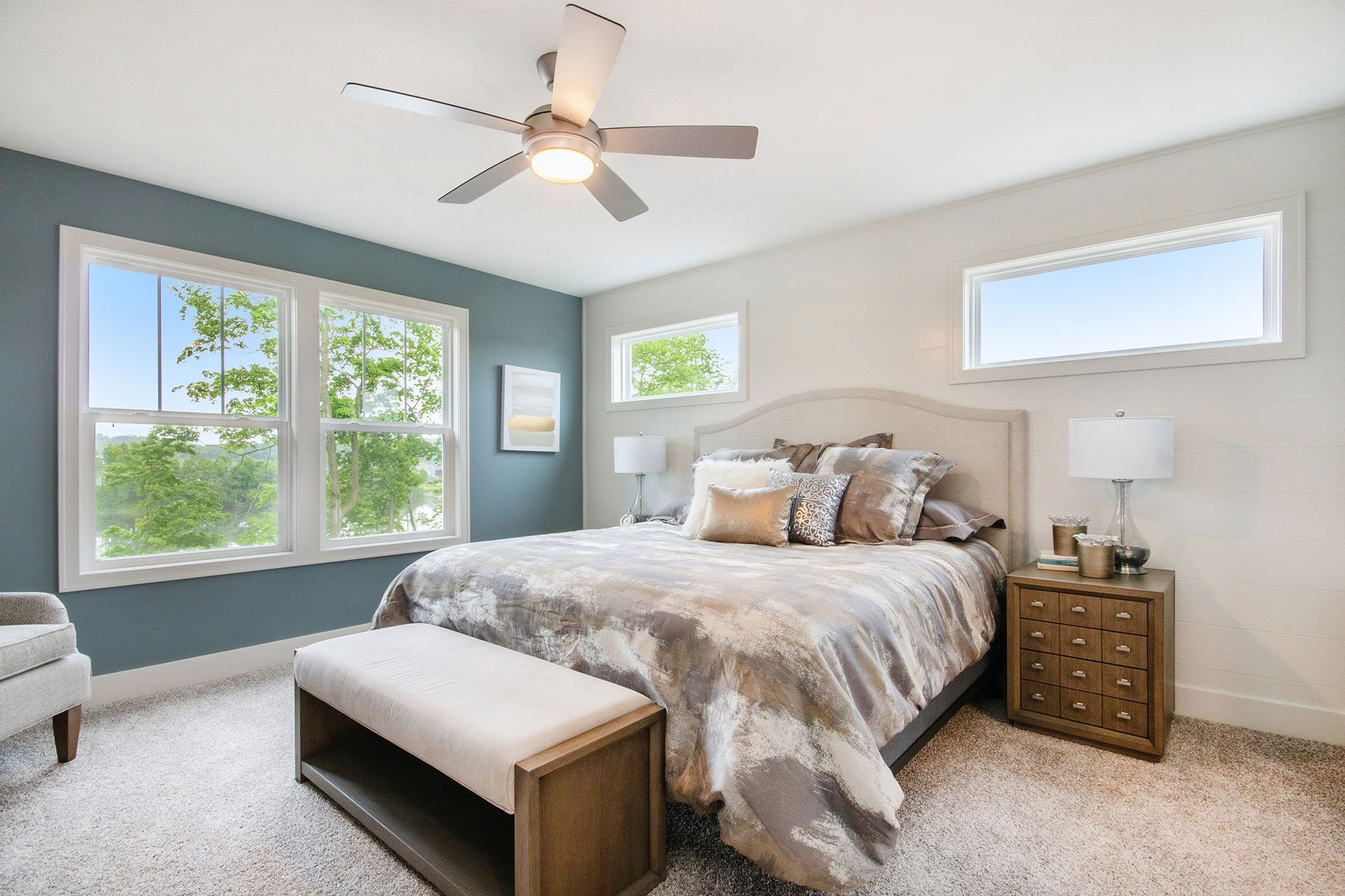 Bedroom featured in The Hearthside By Eastbrook Homes Inc. in Lansing, MI