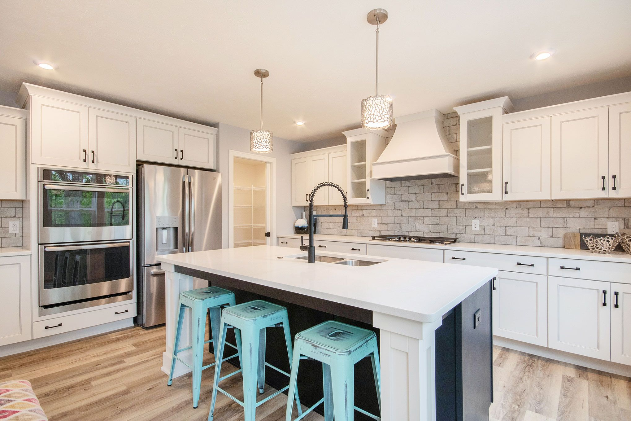 Kitchen featured in The Hearthside By Eastbrook Homes Inc. in Lansing, MI