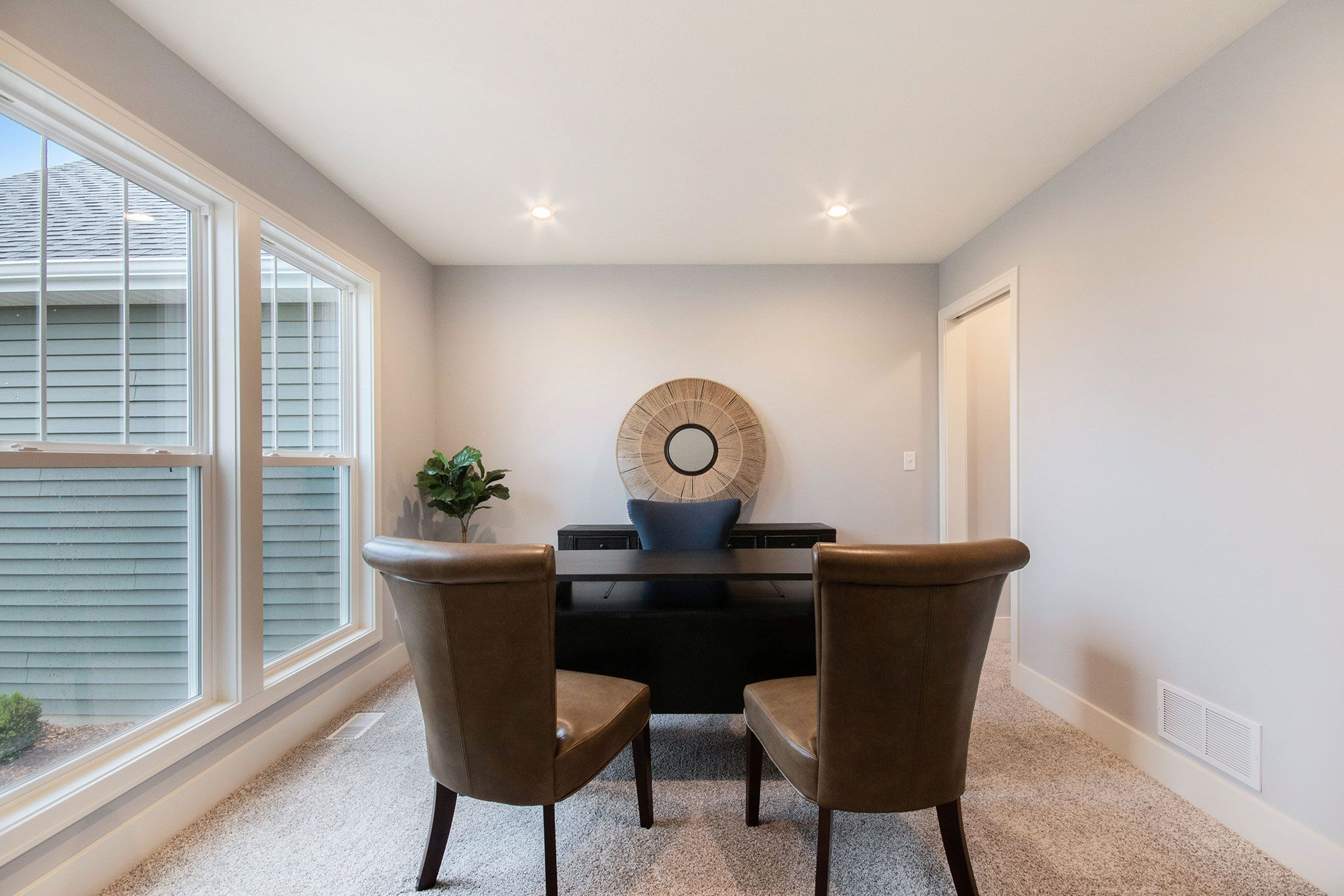 Living Area featured in The Hearthside By Eastbrook Homes Inc. in Lansing, MI