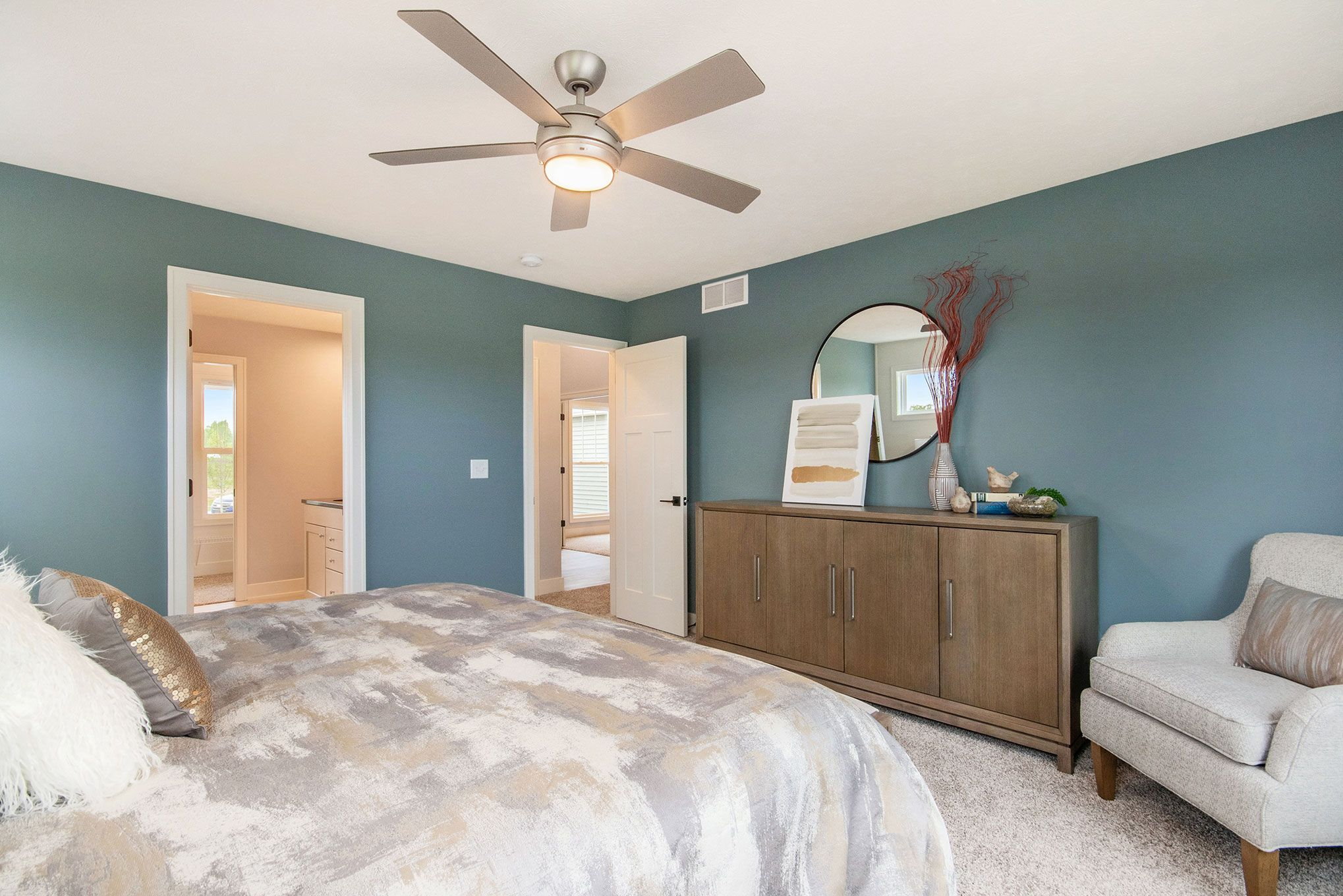 Bedroom featured in The Hearthside By Eastbrook Homes Inc. in Grand Rapids, MI