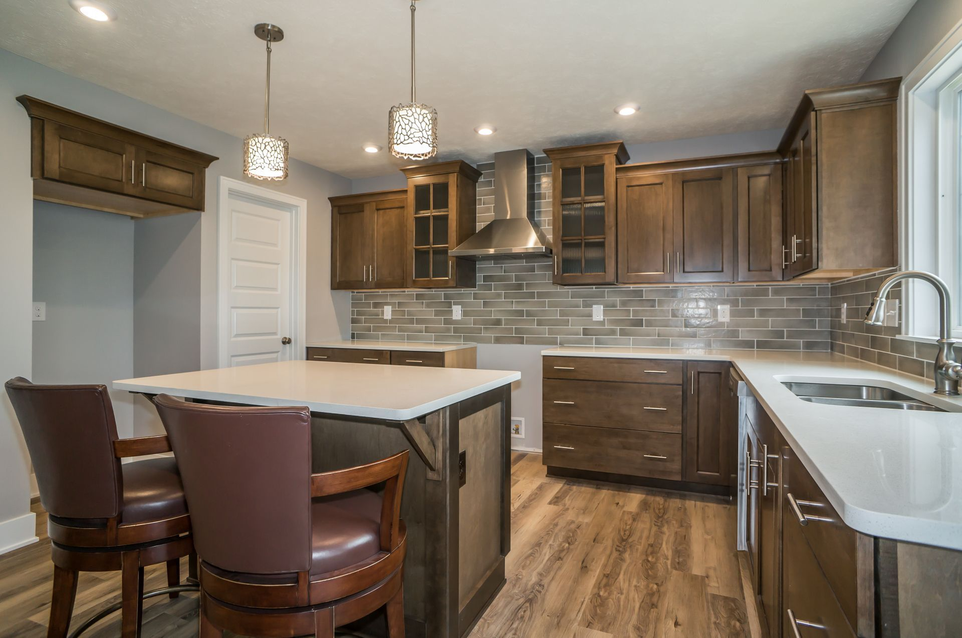 Kitchen featured in The Preston By Eastbrook Homes Inc. in Grand Rapids, MI