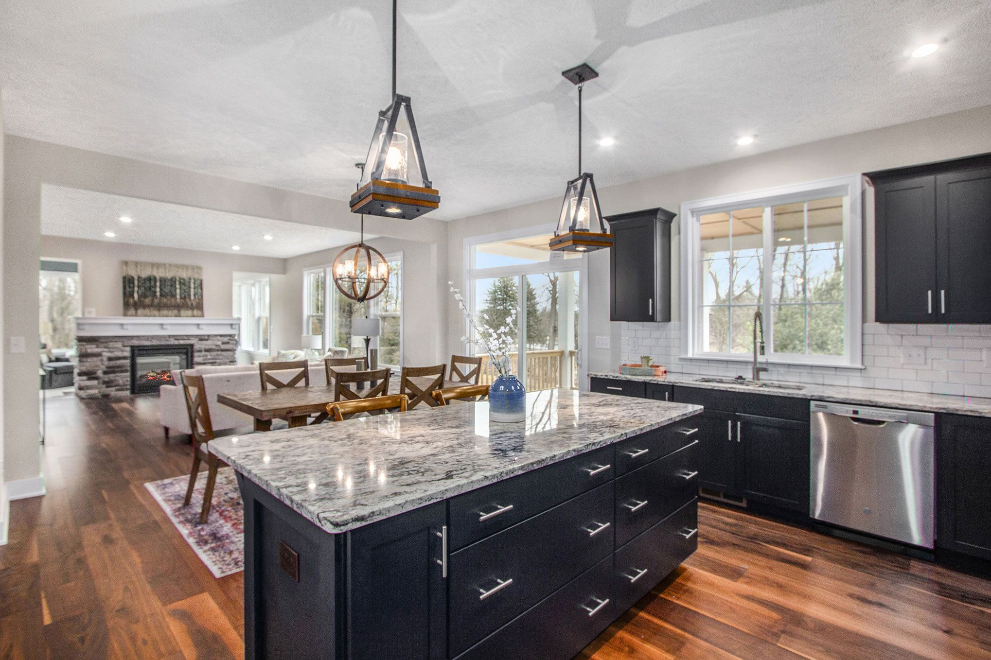 Kitchen featured in The Preston By Eastbrook Homes Inc. in Lansing, MI
