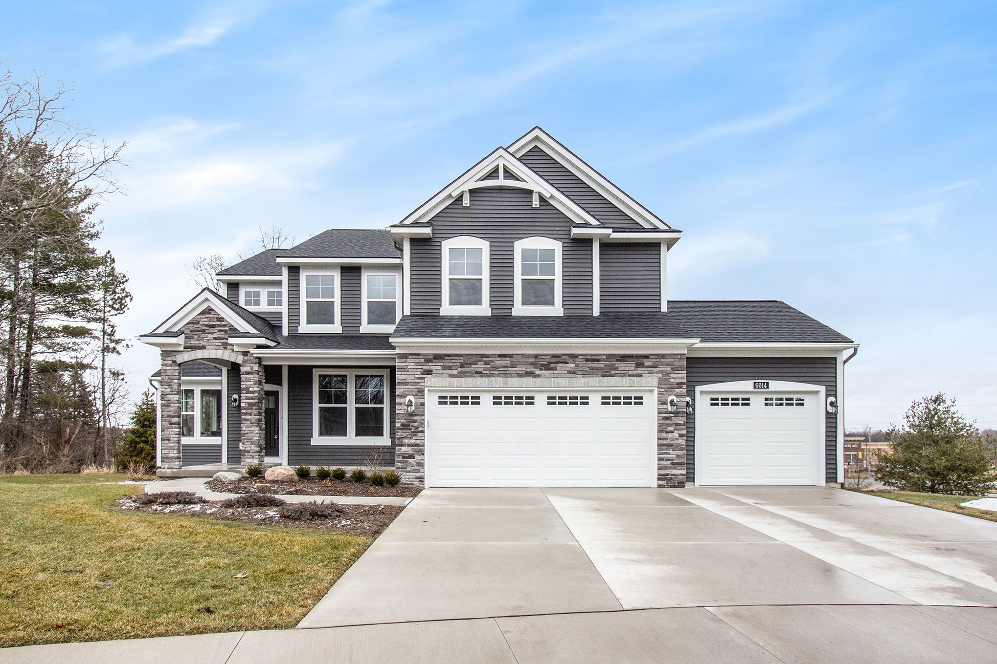 Exterior featured in The Preston By Eastbrook Homes Inc. in Grand Rapids, MI