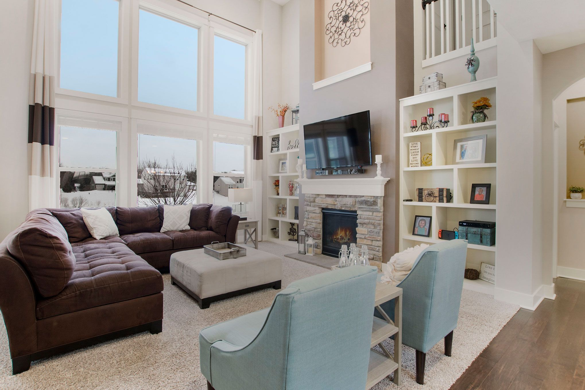 Living Area featured in The Sebastian  By Eastbrook Homes Inc. in Lansing, MI