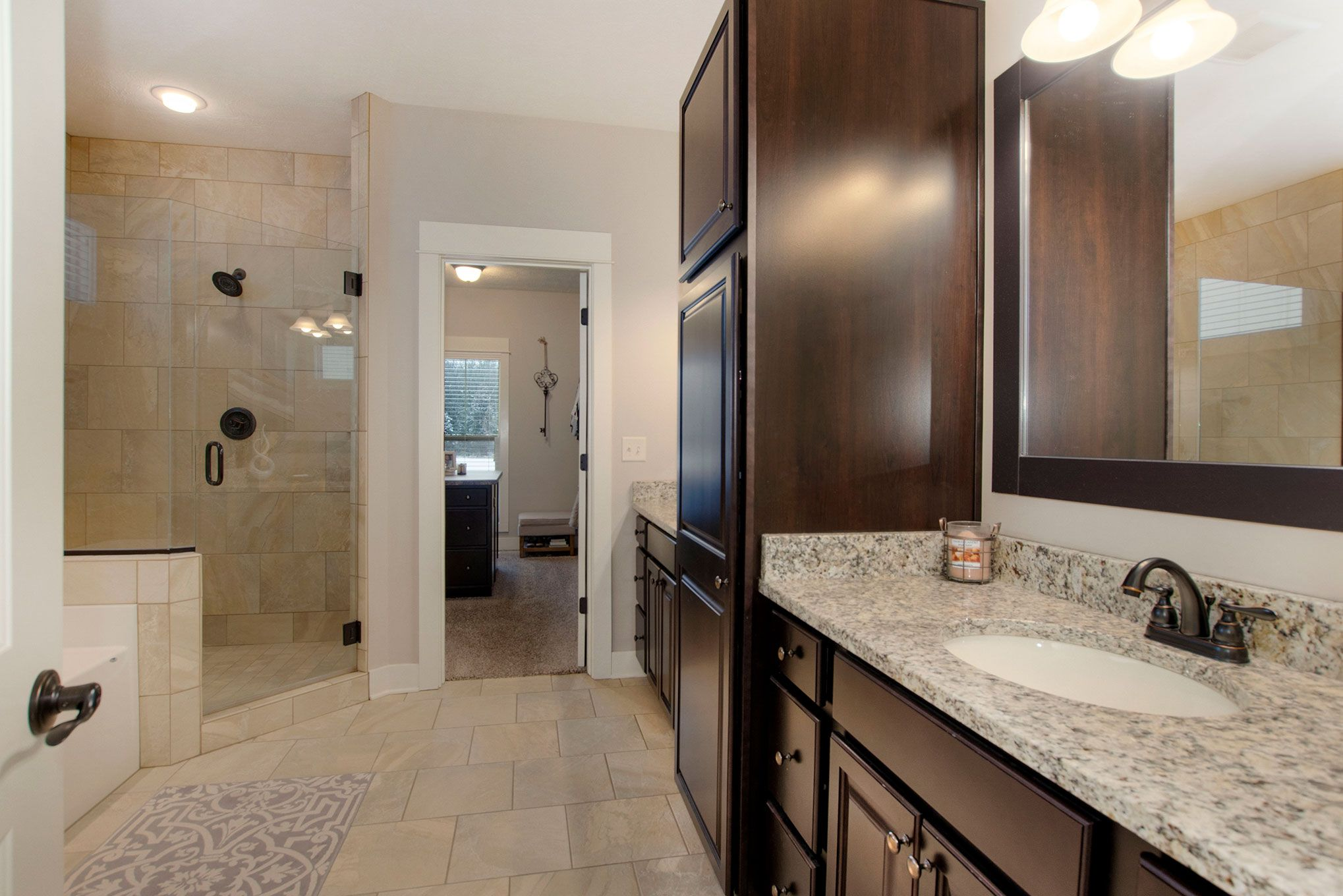 Bathroom featured in The Sebastian  By Eastbrook Homes Inc. in Lansing, MI