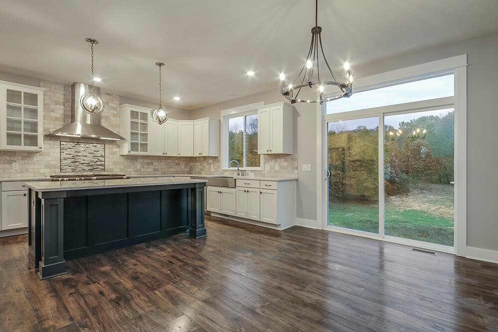 Kitchen featured in The Jamestown By Eastbrook Homes Inc. in Lansing, MI