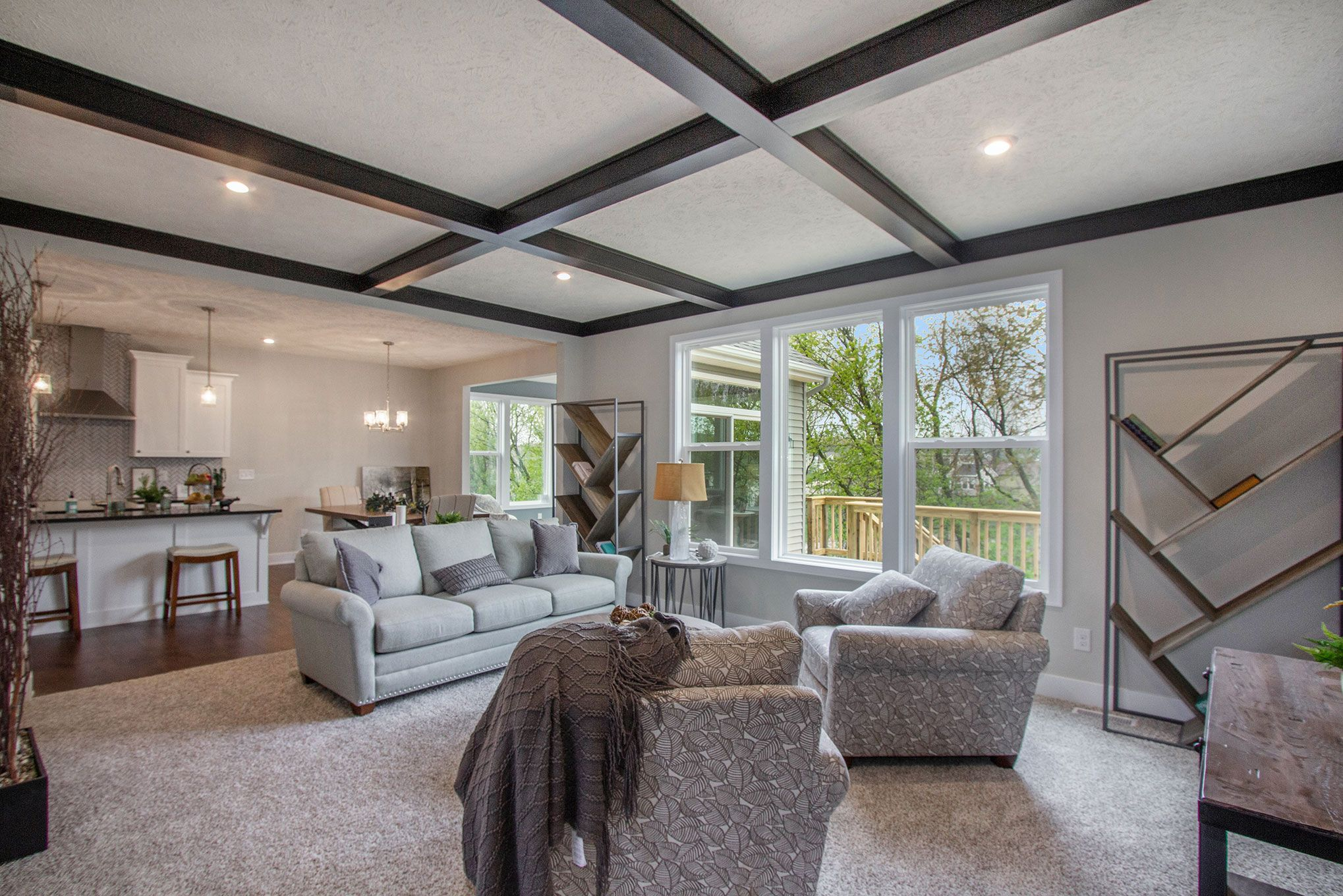 Living Area featured in The Mayfair By Eastbrook Homes Inc. in Lansing, MI