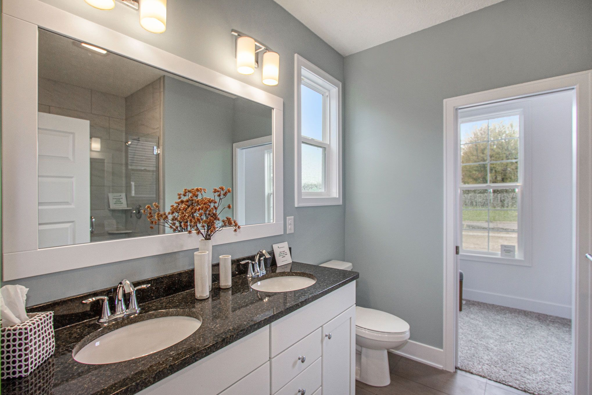 Bathroom featured in The Mayfair By Eastbrook Homes Inc. in Lansing, MI