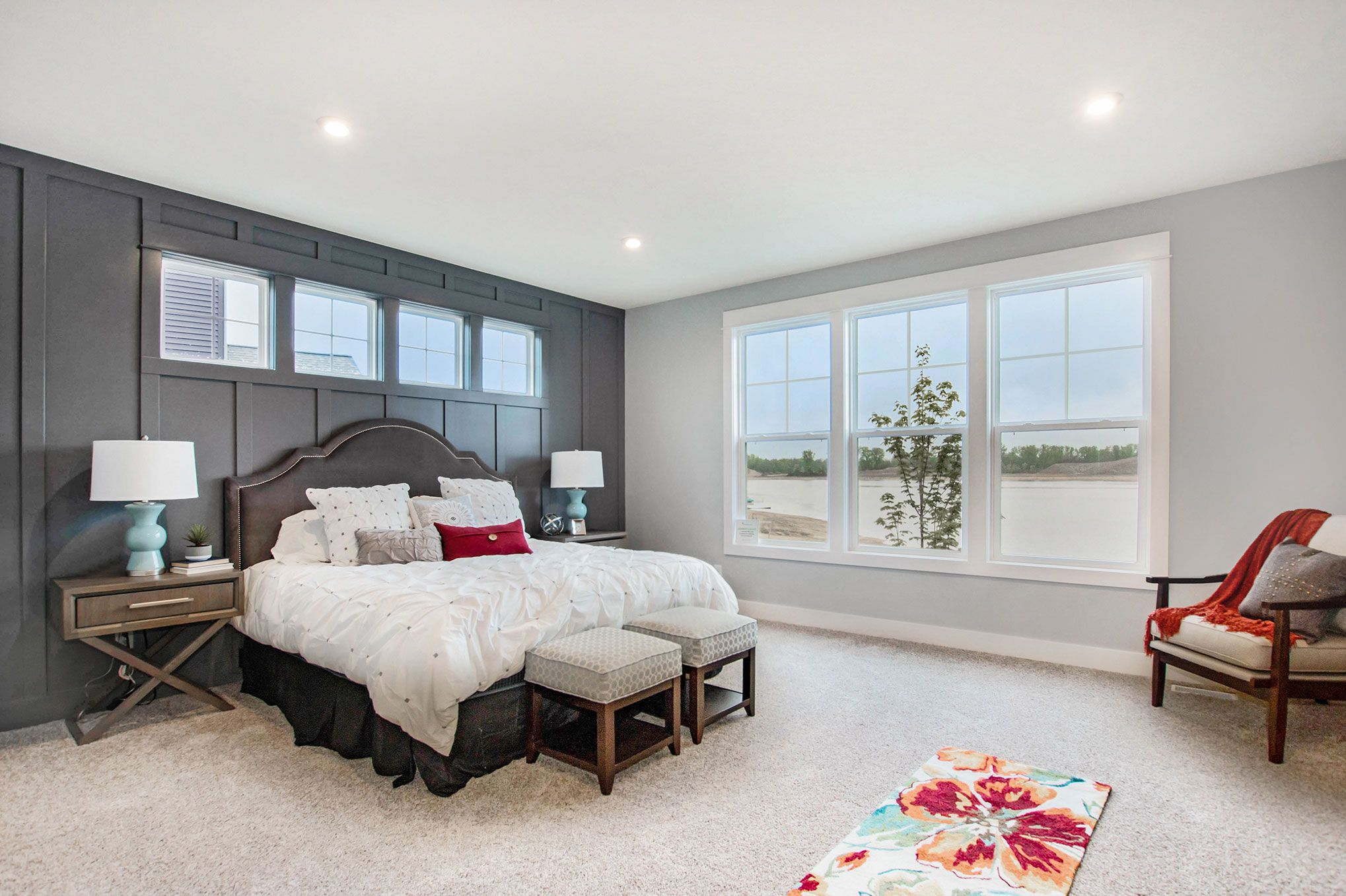 Bedroom featured in The Birkshire By Eastbrook Homes Inc. in Lansing, MI