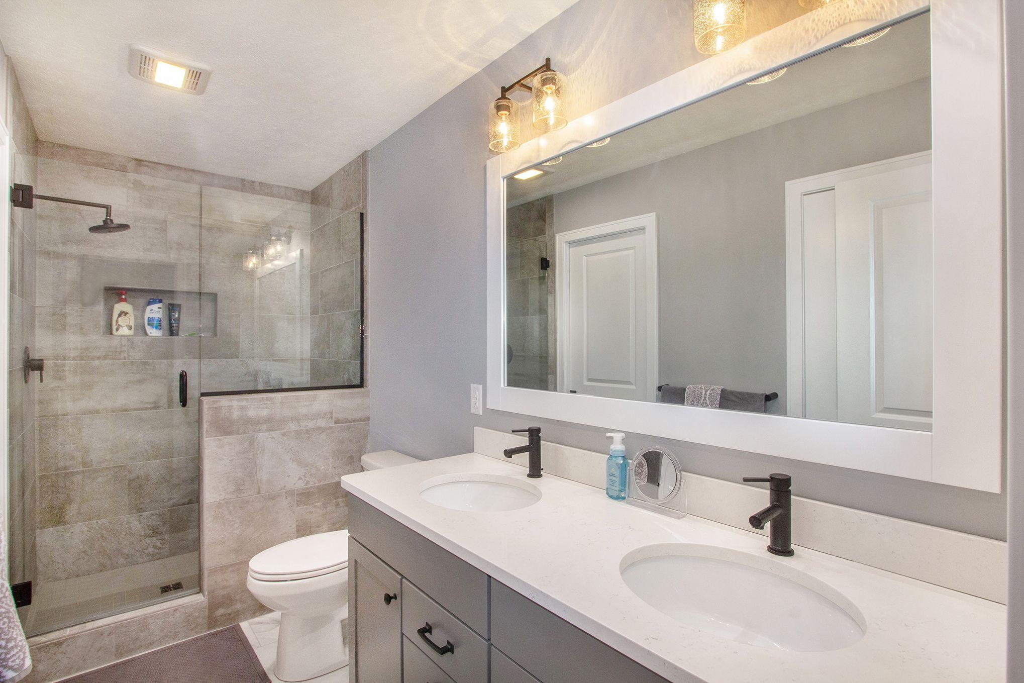 Bathroom featured in The Georgetown By Eastbrook Homes Inc. in Lansing, MI