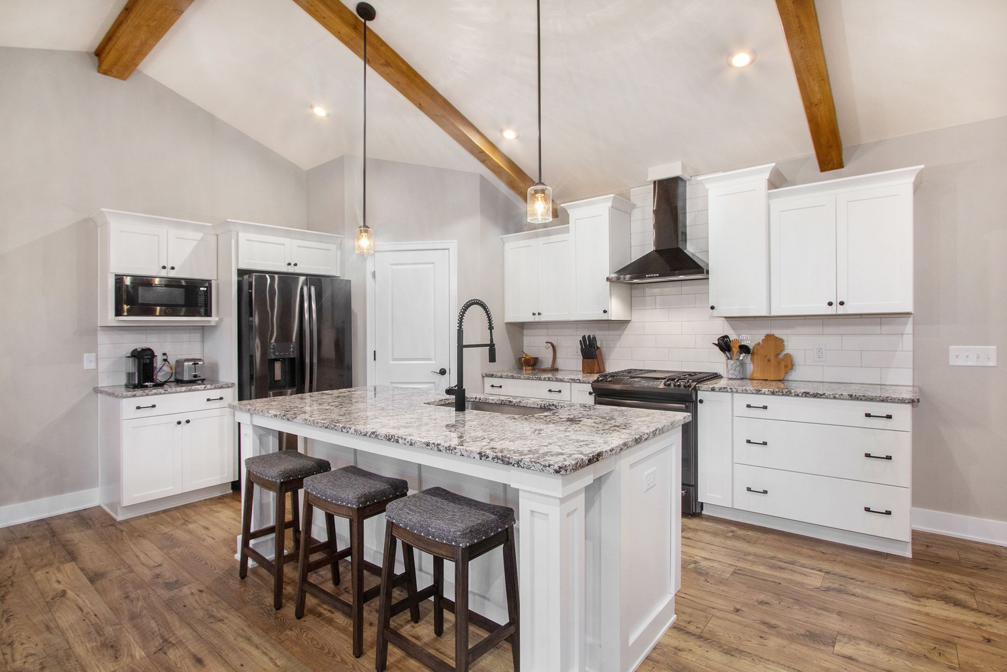 Kitchen featured in The Georgetown By Eastbrook Homes Inc. in Lansing, MI