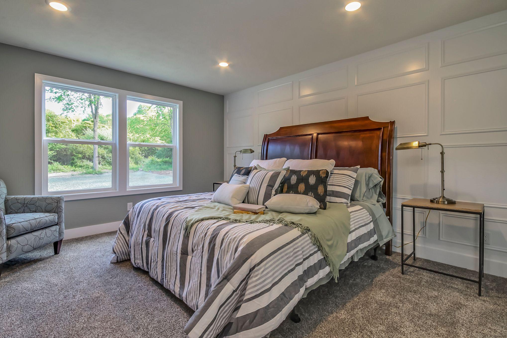 Bedroom featured in The Hadley By Eastbrook Homes Inc. in Lansing, MI