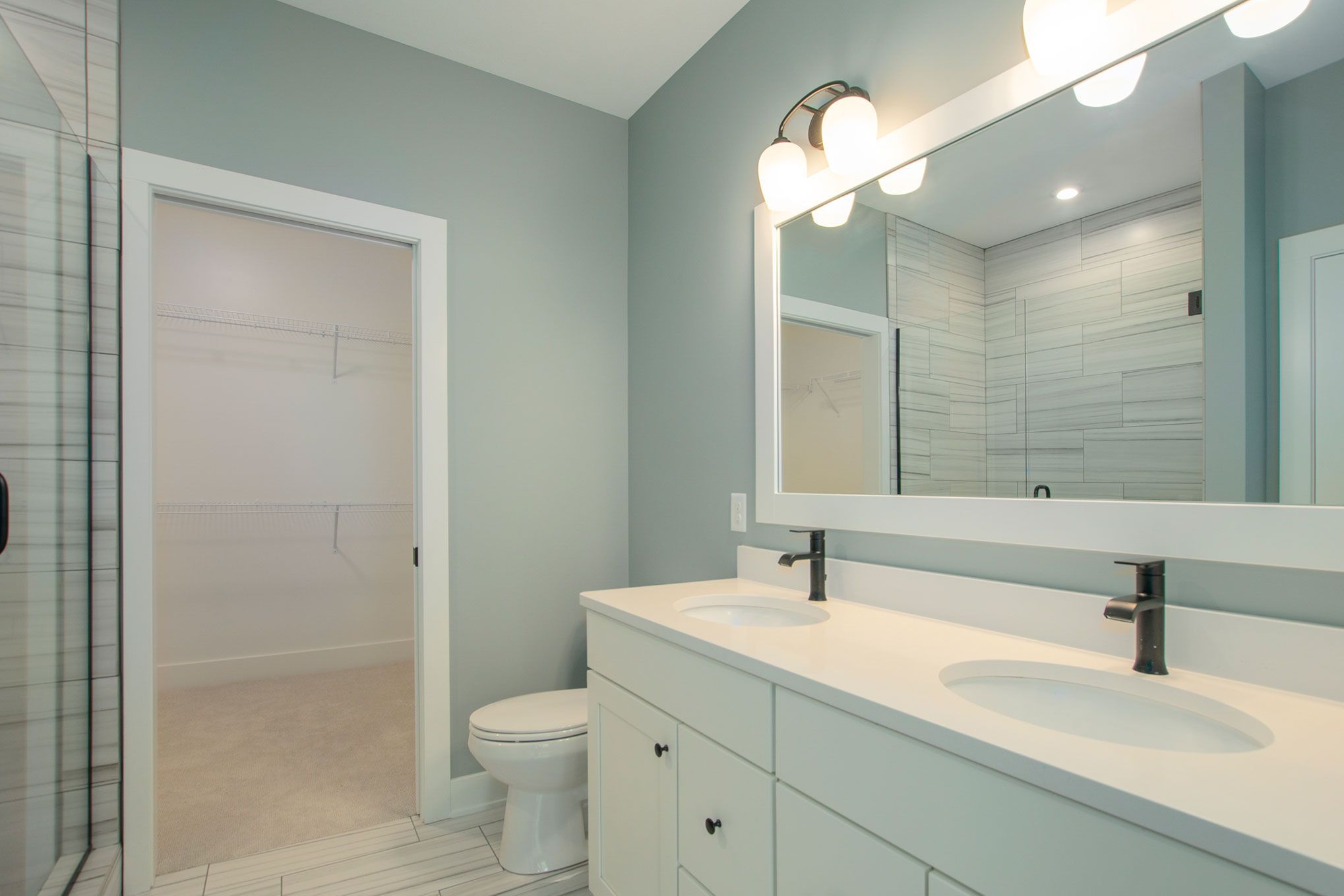 Bathroom featured in The Pentwater II By Eastbrook Homes Inc. in Grand Rapids, MI