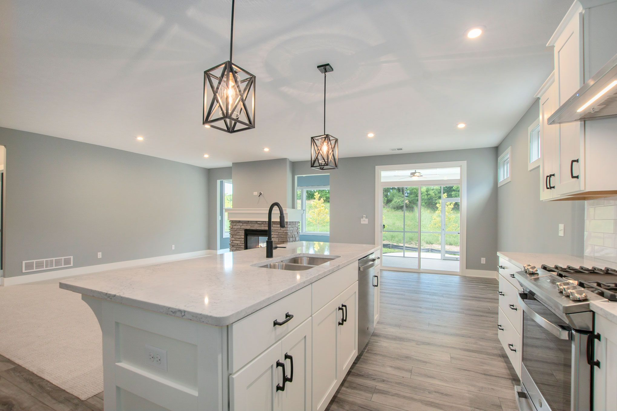 Kitchen featured in The Pentwater II By Eastbrook Homes Inc. in Grand Rapids, MI
