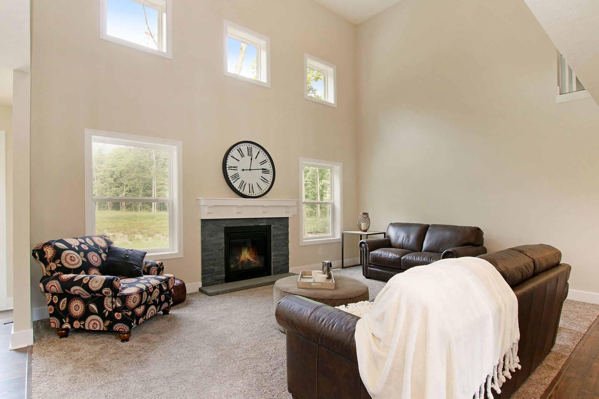 Living Area featured in The Hadley By Eastbrook Homes Inc. in Lansing, MI