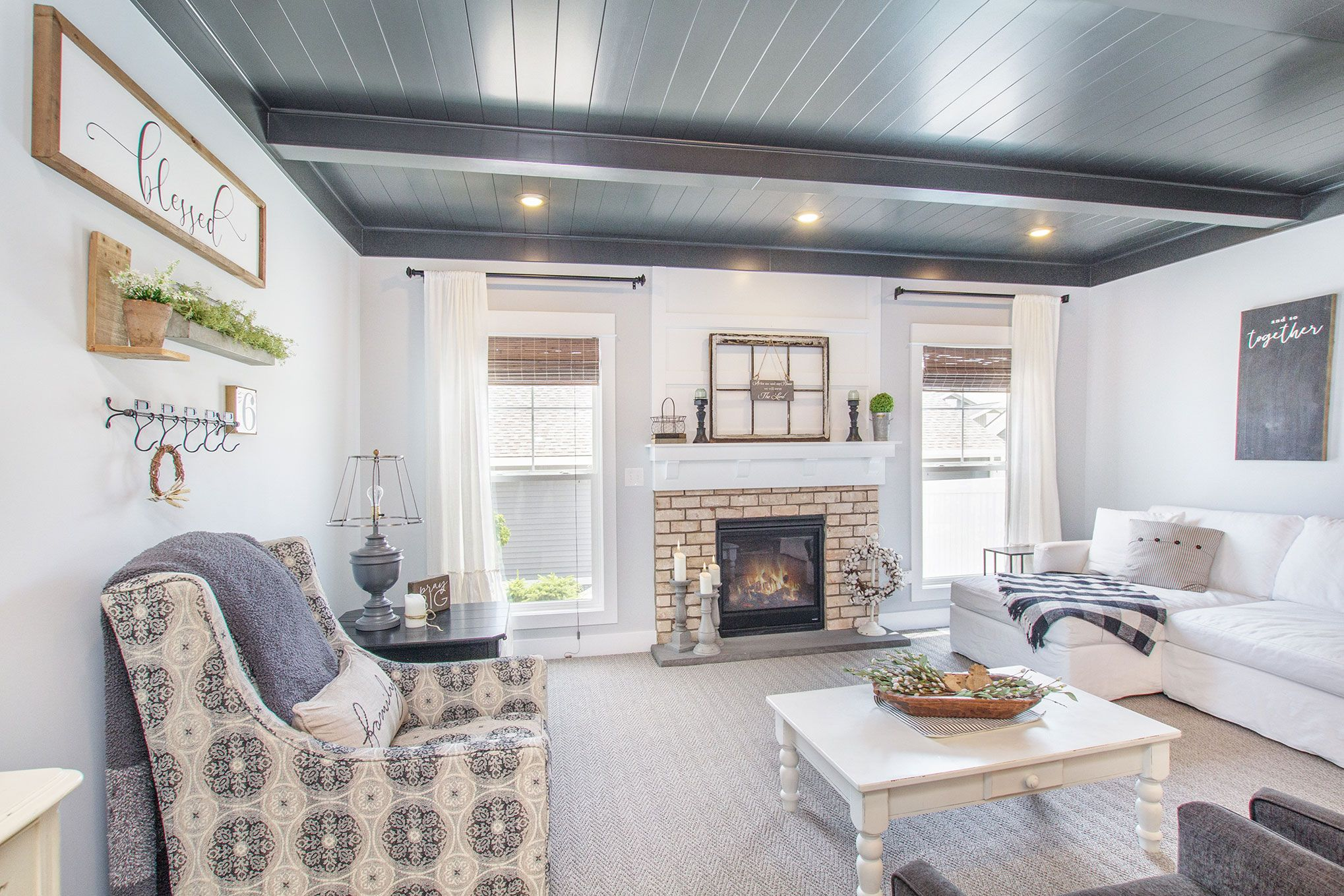 Living Area featured in The Macatawa Legends Townhomes By Eastbrook Homes Inc. in Grand Rapids, MI