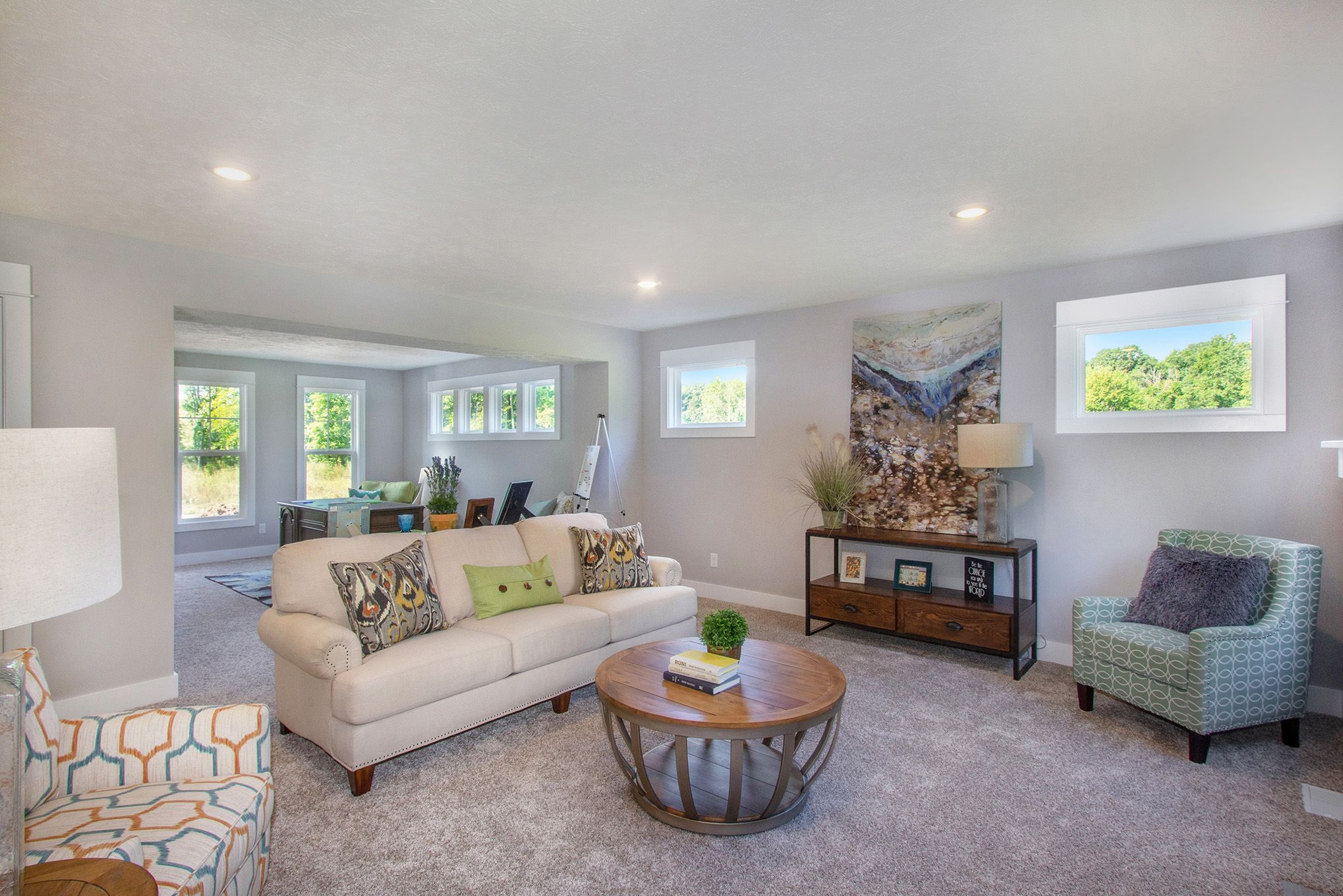 Living Area featured in The Sanibel By Eastbrook Homes Inc. in Lansing, MI