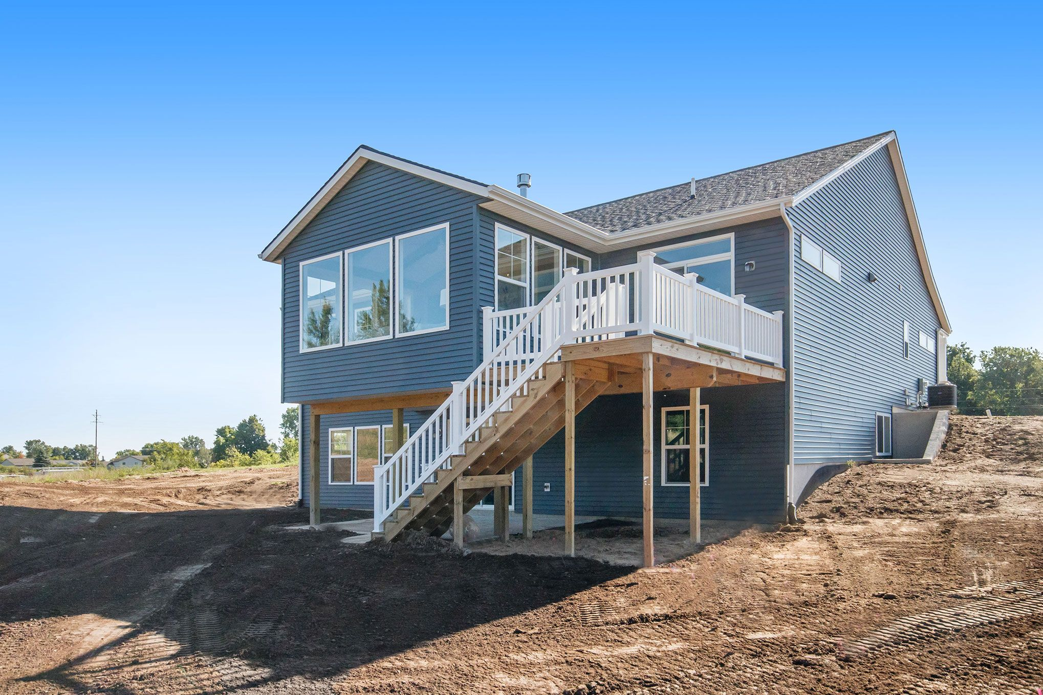 Exterior featured in The Willow ll By Eastbrook Homes Inc. in Grand Rapids, MI