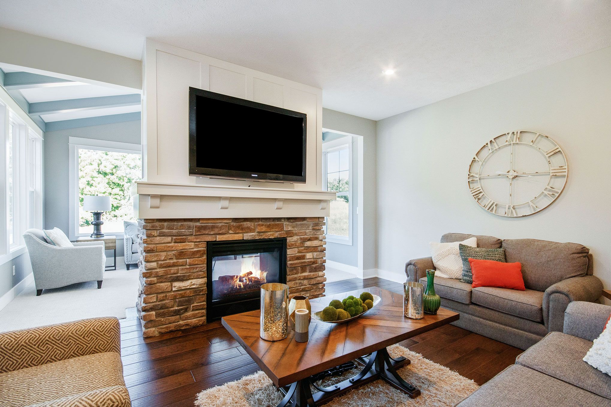 Living Area featured in The Willow ll By Eastbrook Homes Inc. in Grand Rapids, MI