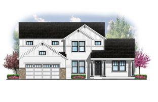 The Hearthside - College Fields: Okemos, Michigan - Eastbrook Homes Inc.