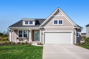 The Georgetown - Lowing Woods: Jenison, Michigan - Eastbrook Homes Inc.